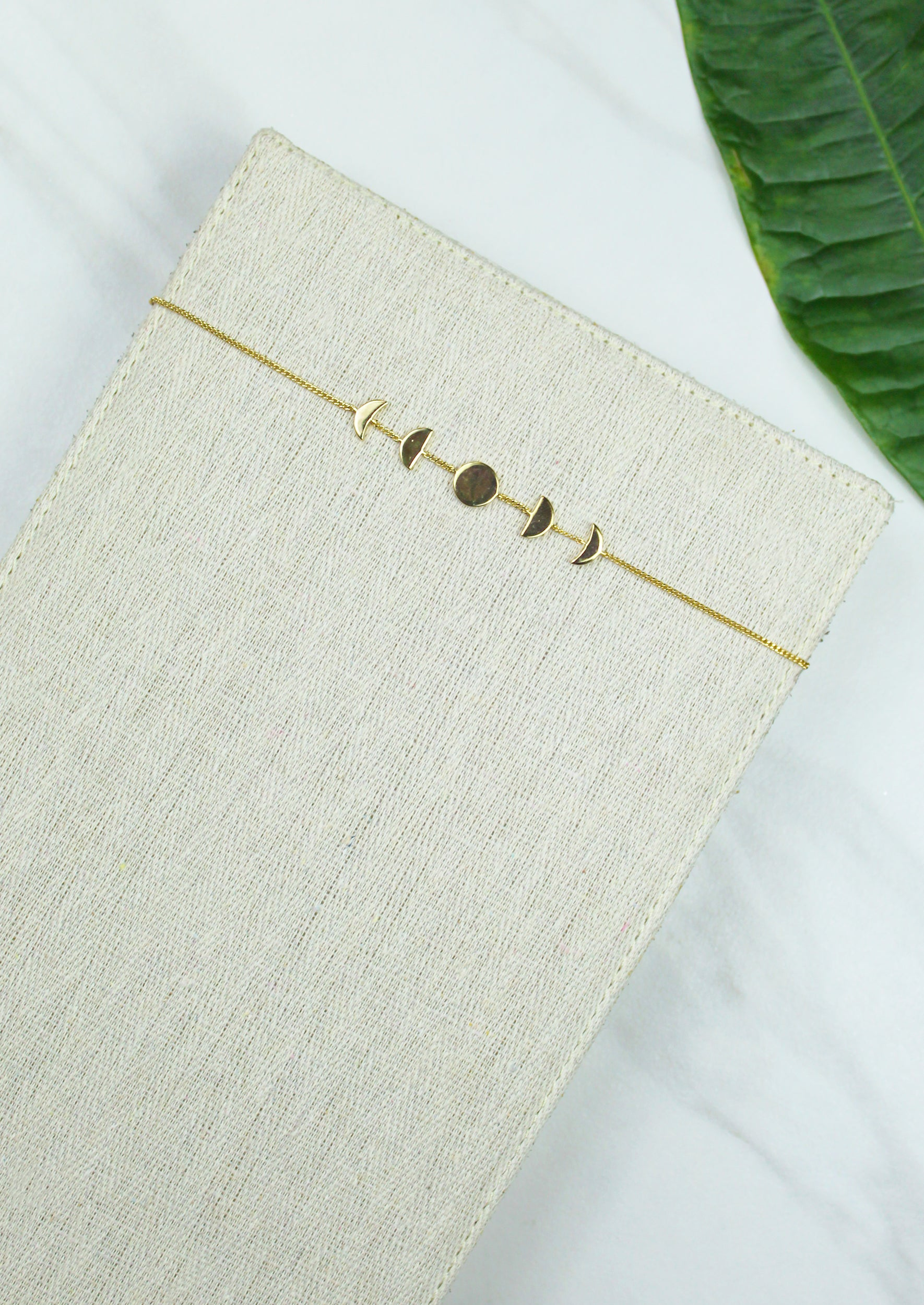 Moon Phase Choker - Jules Smith - 14K Gold Plated - Boho Jewelry
