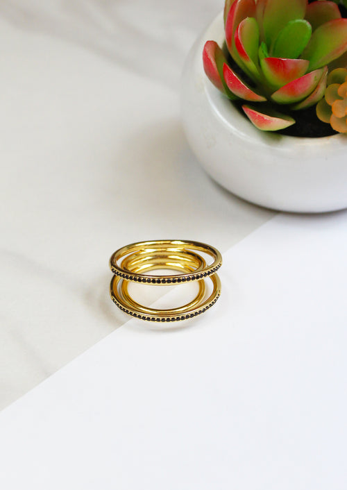Pave Orbit Ring