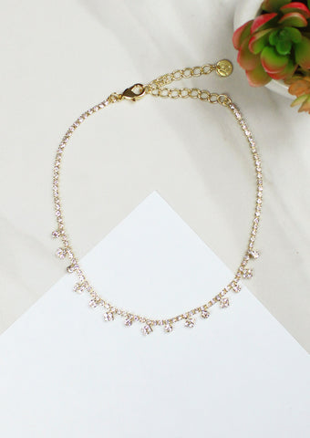 Pave Gradient Necklace