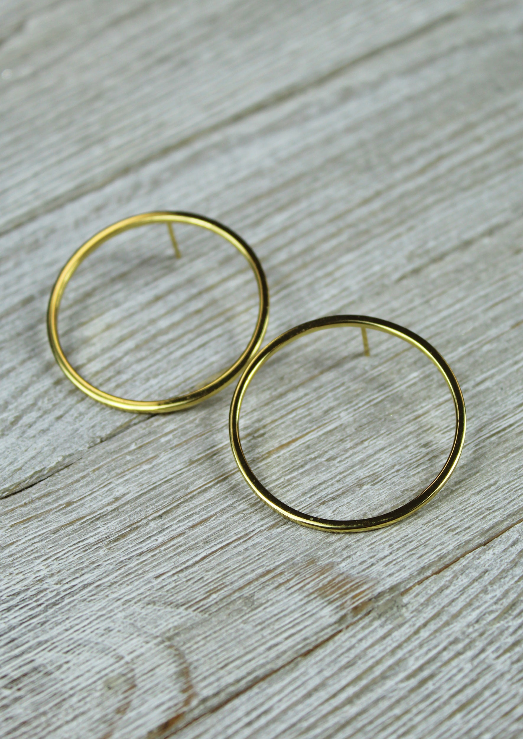 Jane Hoops - Jules Smith - 14K Gold Plated - Boho Jewelry