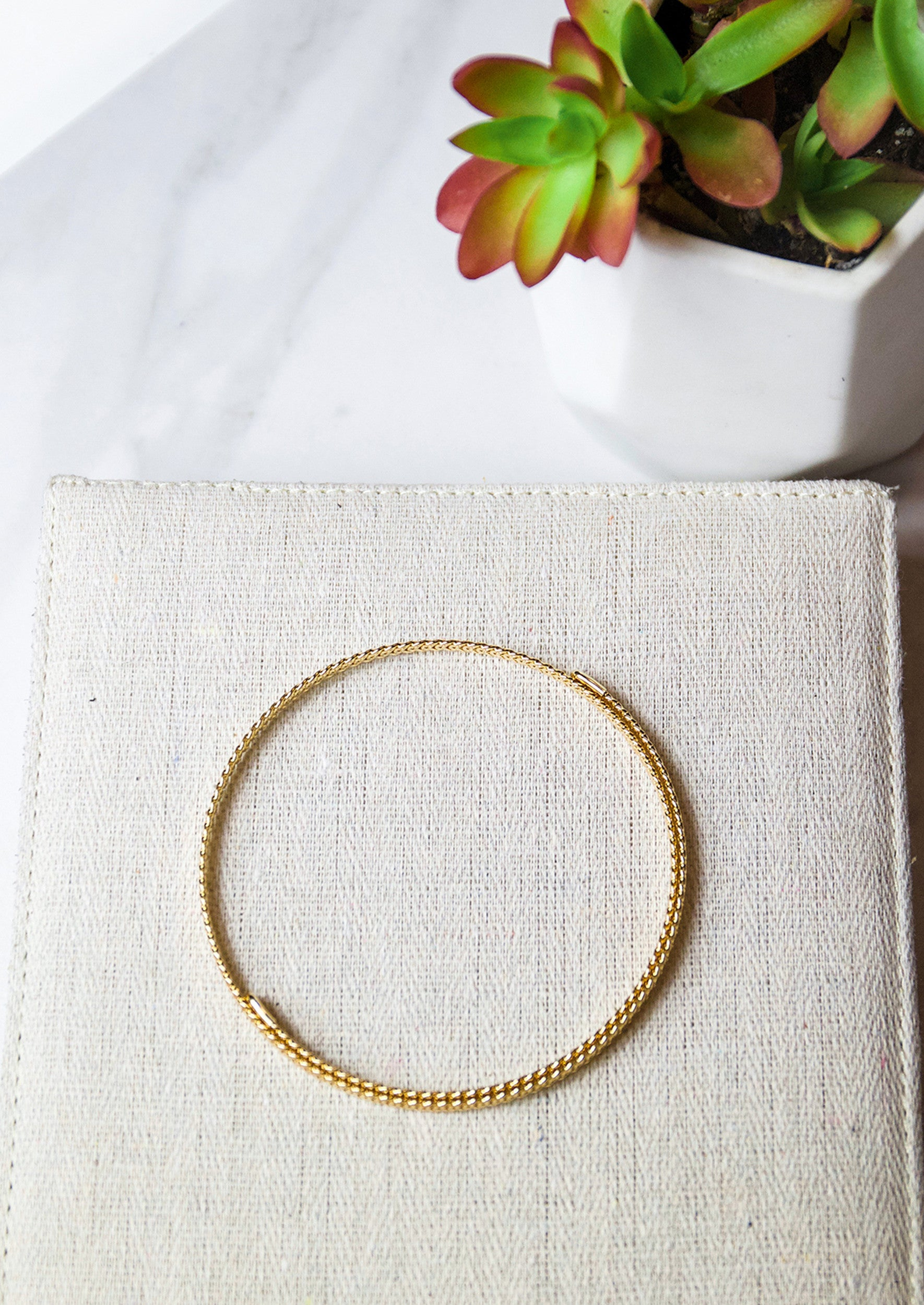 Nirvana Coil Choker - Jules Smith - 14K Gold Plated - Boho Jewelry