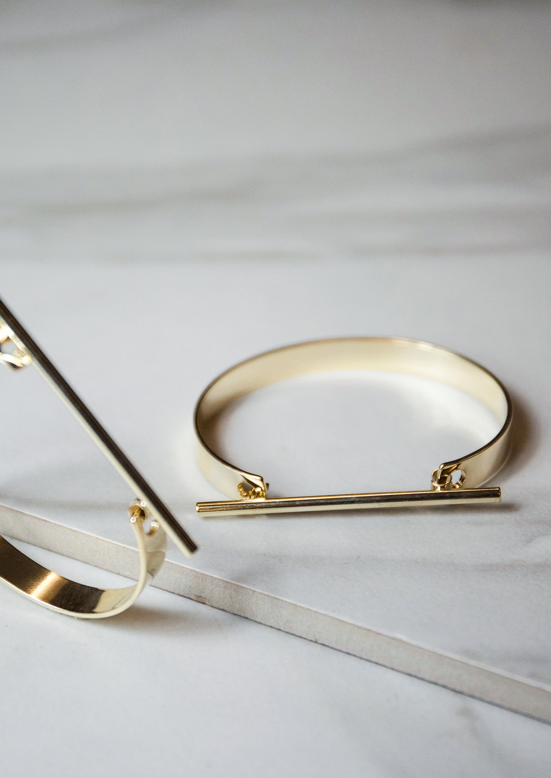 Jules Smith 14K plated Classic Gold Cuff