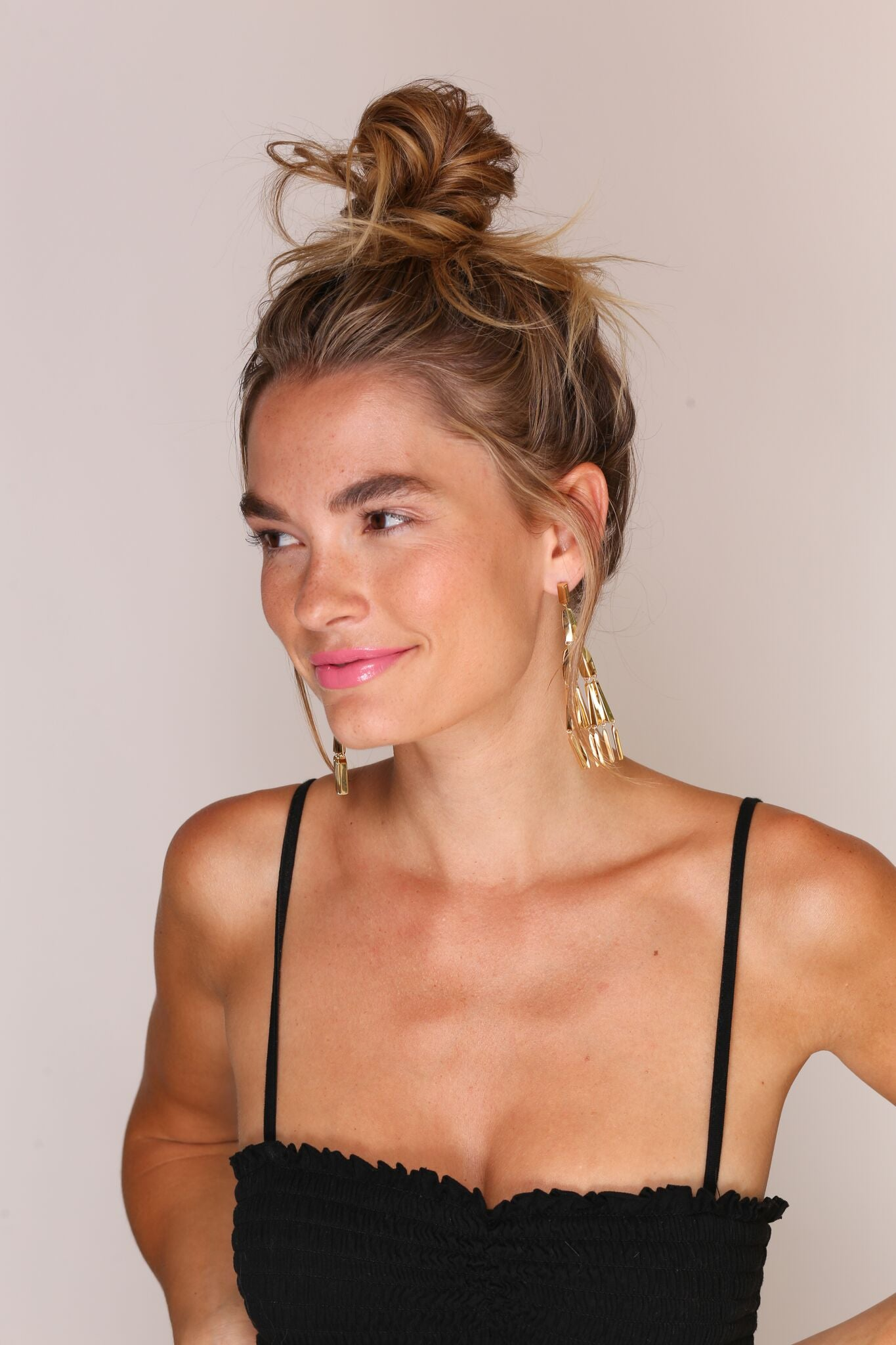 Jules Smith 14K Plated Boho Tassel Earrings