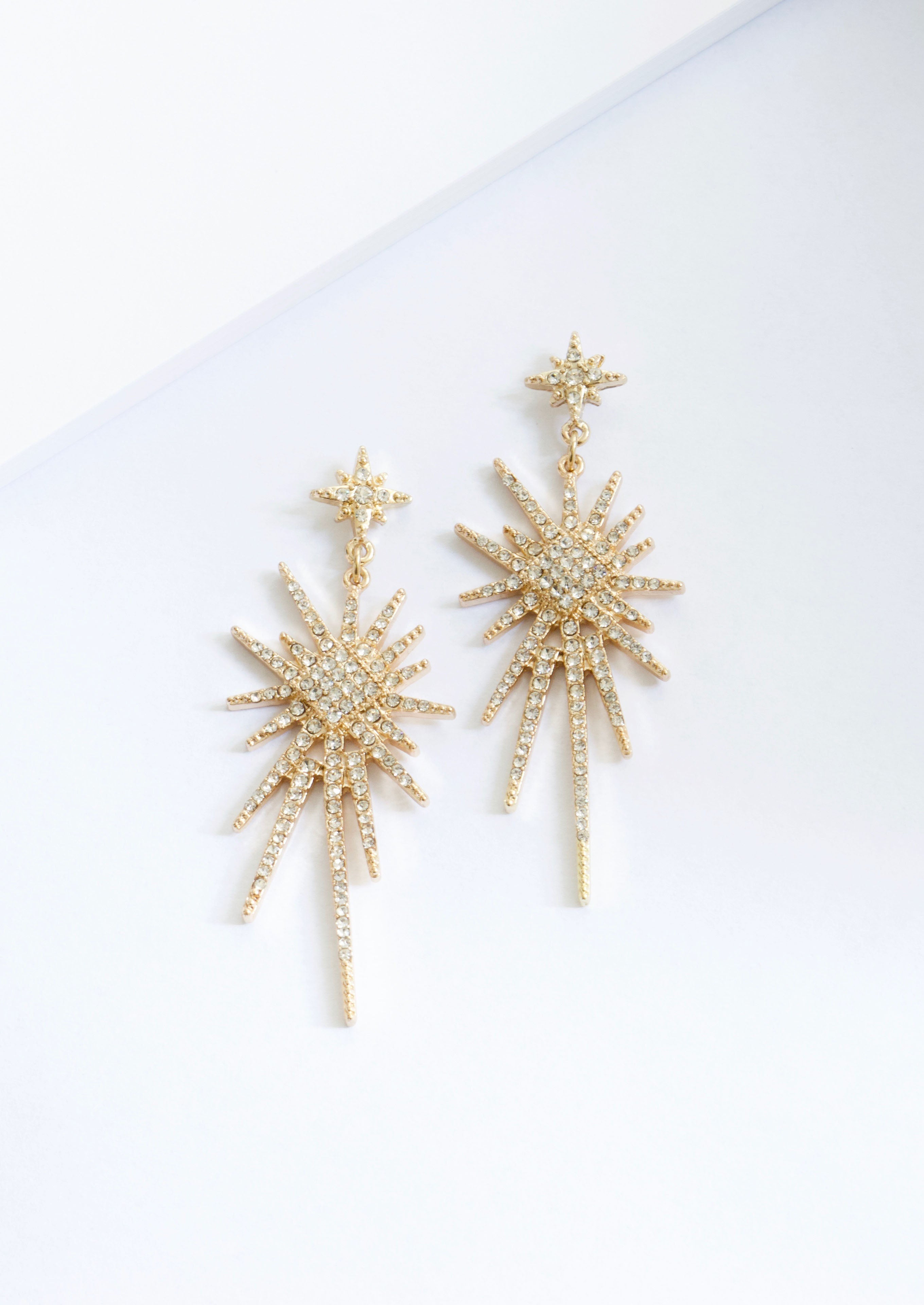 OPEN SPARK EARRINGS