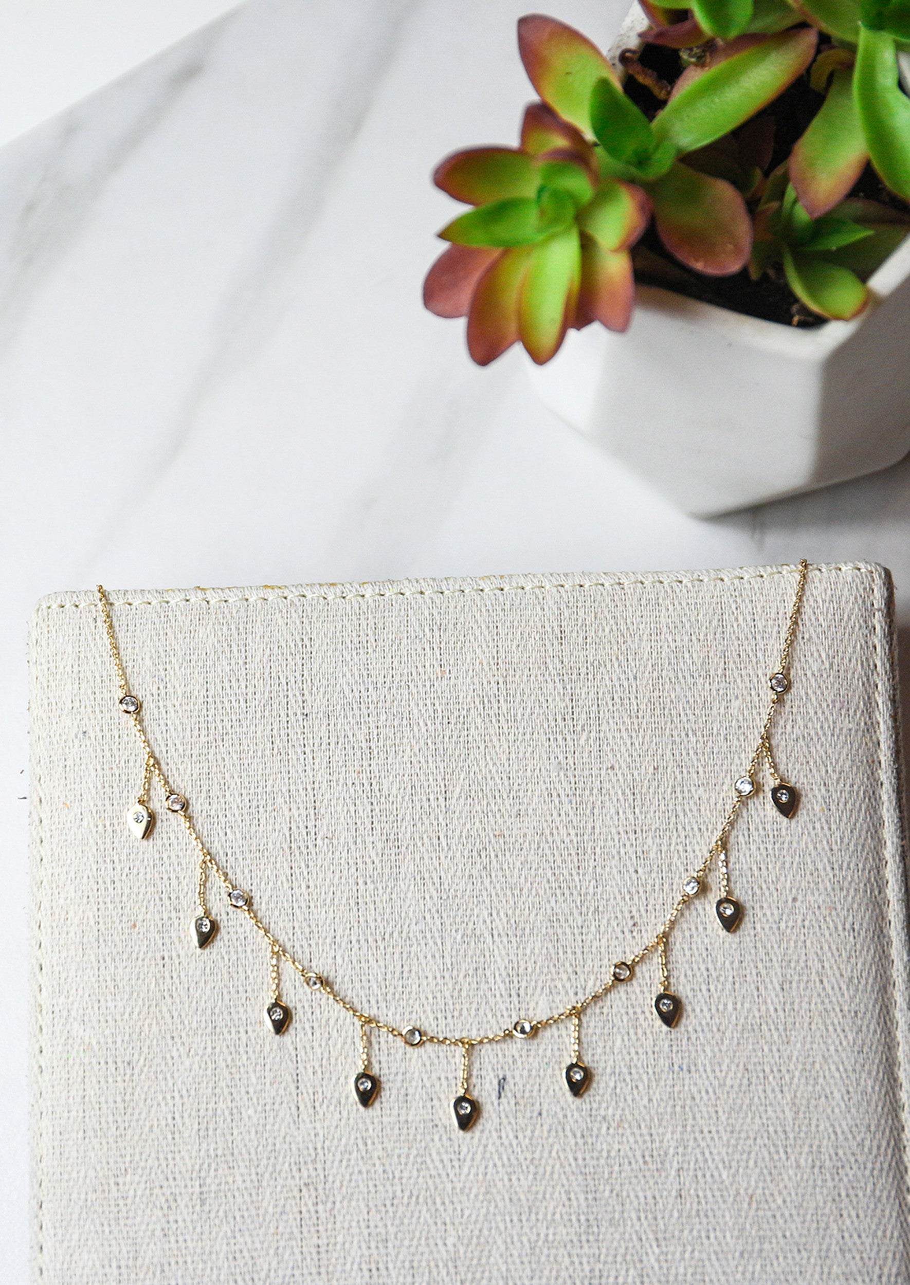 Rory Necklace - Jules Smith - 14K Gold Plated - Boho Jewelry