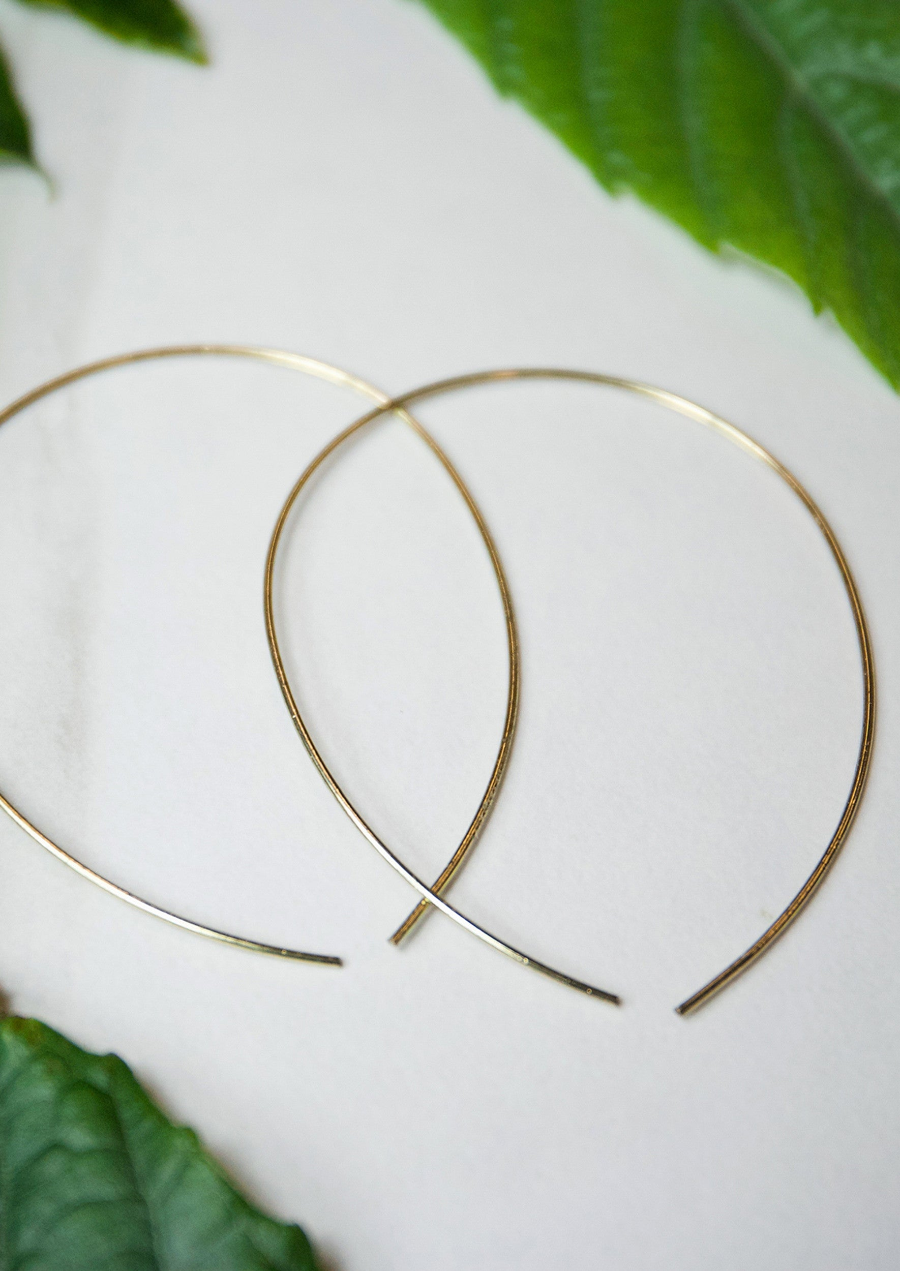 Jules Smith 14k Plated Bohemian Hoop Earrings From Jules Smith