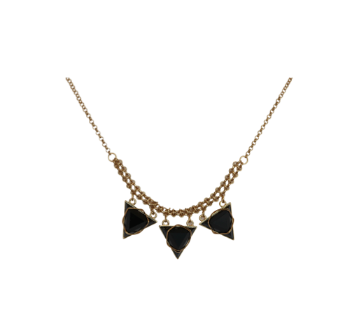 WRAPPED TRIANGLE NECKLACE