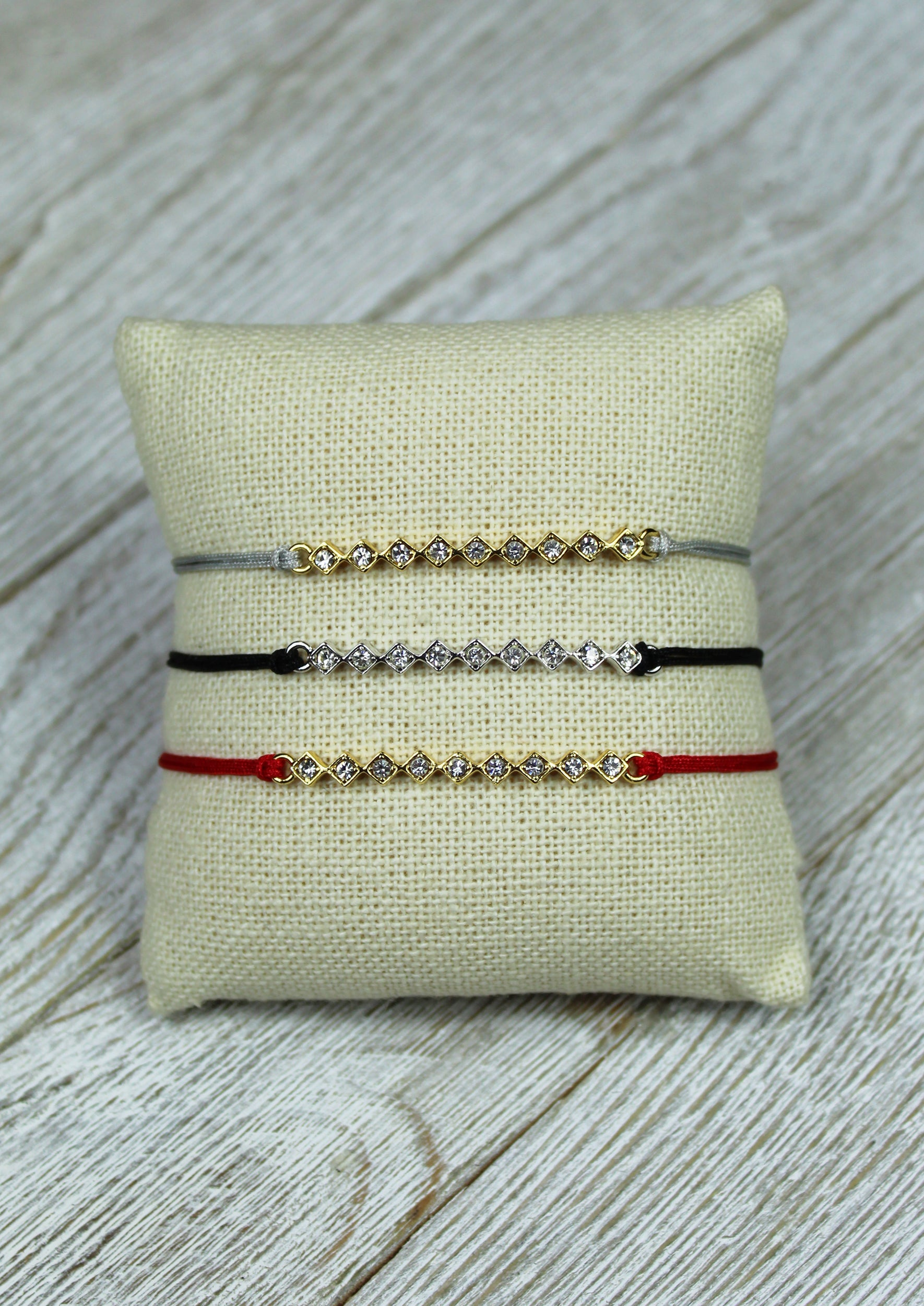 Tulum Braided Bracelets - Jules Smith - 14K Gold Plated - Boho Jewelry