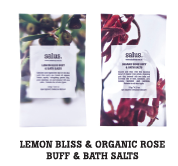 LEMON BLISS BUFF & BATH SALTS (SACHET)