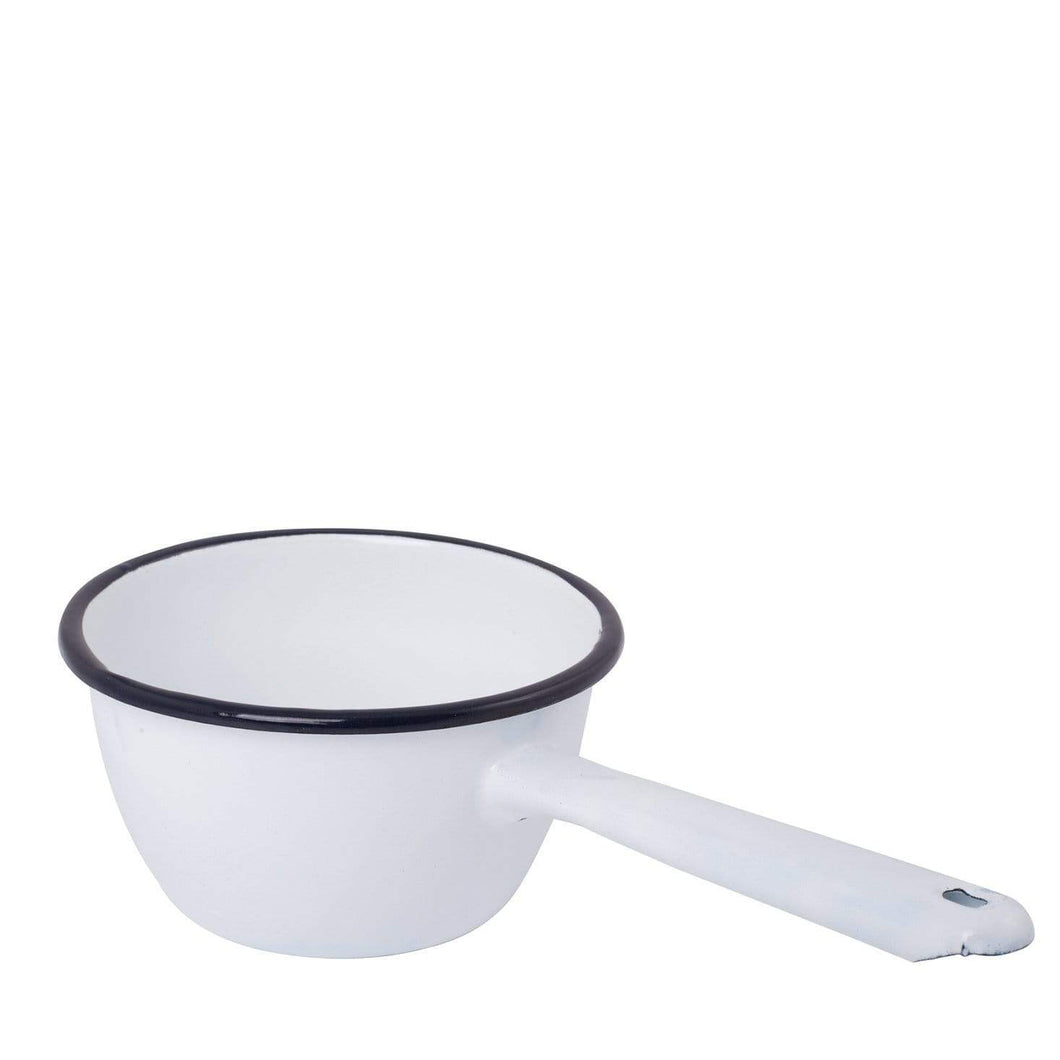 Enamel Saucepan with Spout