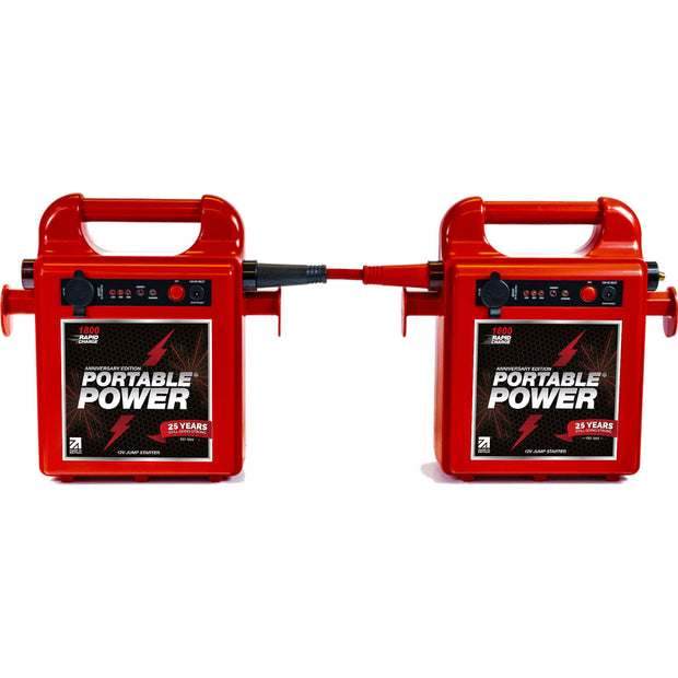 Dual 1800RC Pack with FREE 24v Connector