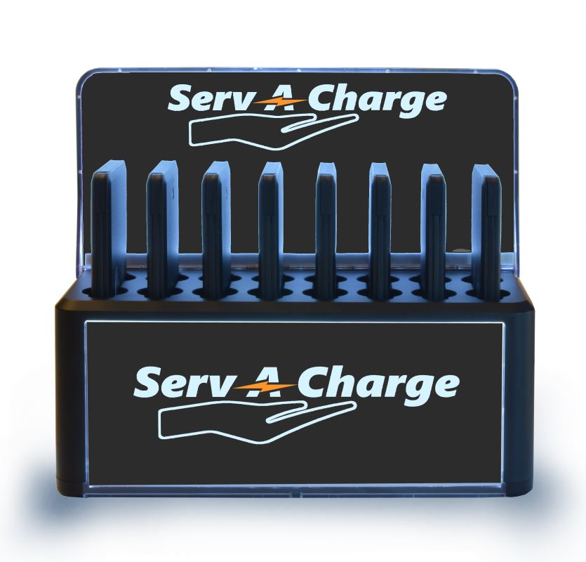 Charging Station with Portable Chargers