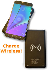Charge Pod with wireless / I-Phone / Micro-USB