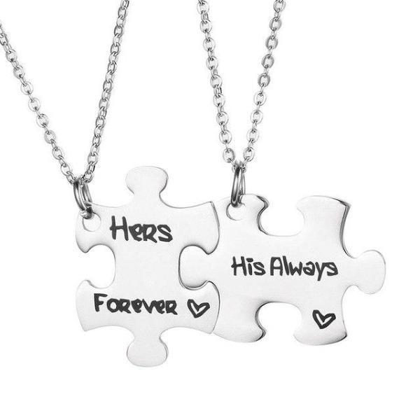 c0c1e307ee 5 Reasons Why Couple Necklaces Are The Best Gift For Your Man - The ...