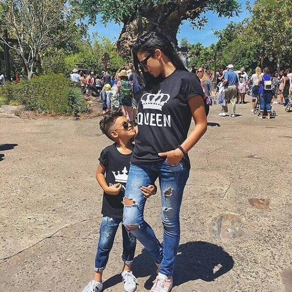 3e688389 The Matching Couple Crown King Queen Prince Princess Matching Family Shirts