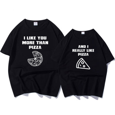 a4ebea4b83 The Matching Couple I Like You More Than Pizza Couple Shirts - The ...