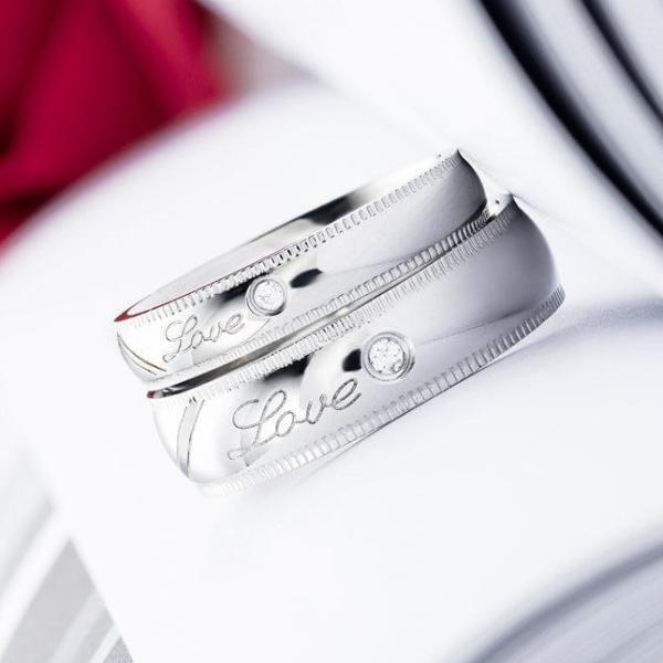 5e5c62a99a The Matching Couple Rings Matching Hearts Couple Promise Rings - Black &  Rose Gold