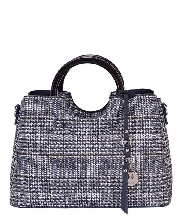 Glen Plaid Mini Handbag