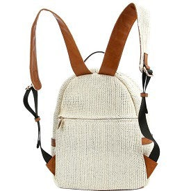Canvas Backpack With Matching Wallet
