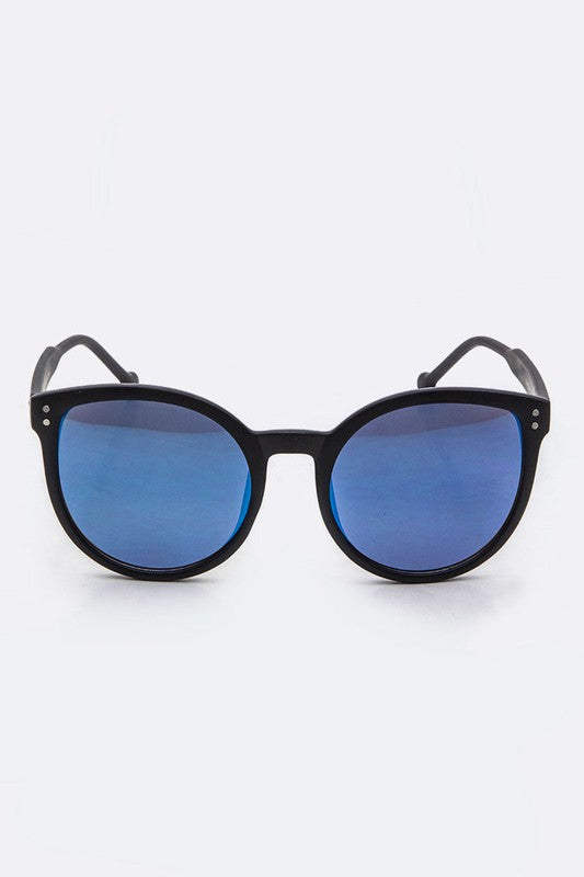 Color Tinted Cateye Sunglasses