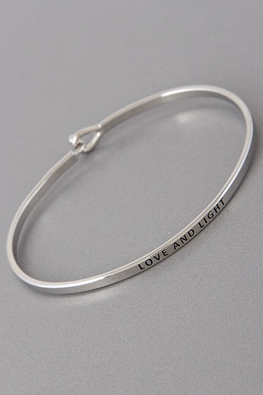Love & Light Bangle Bracelet