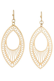 Filigree Marquise Earrings