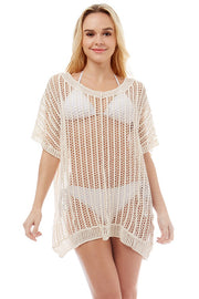 Crochet Swim Cover Up
