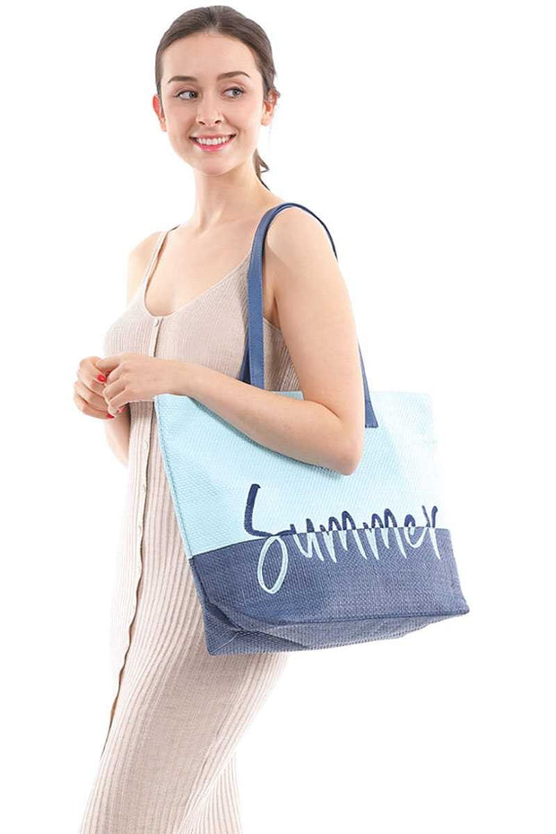 Summer Beach Tote Bag