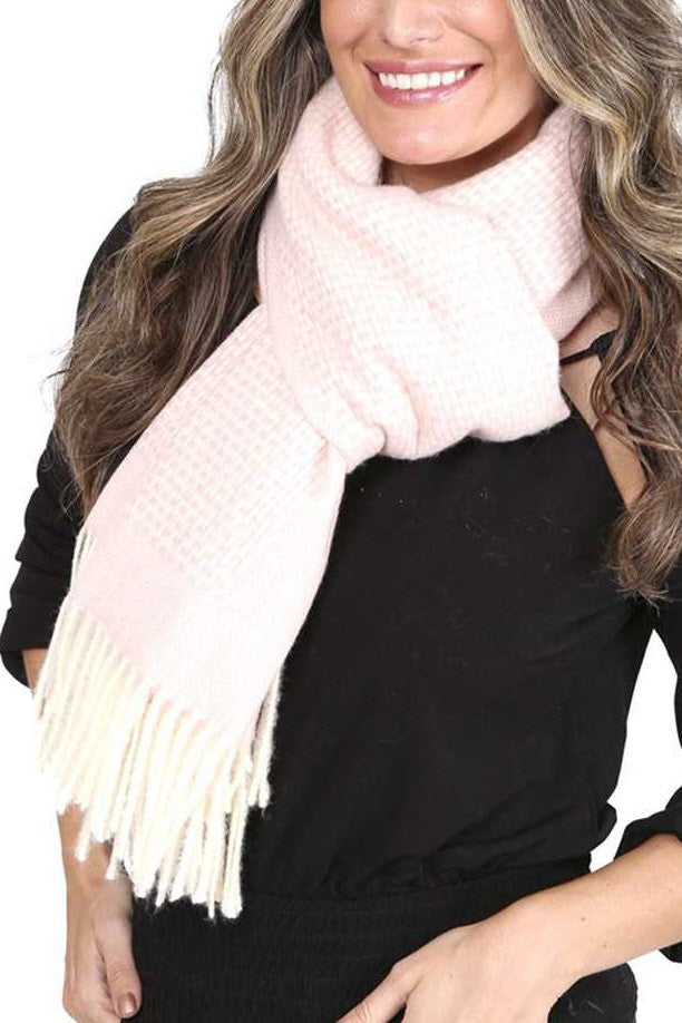 Mixed Weave Scarf