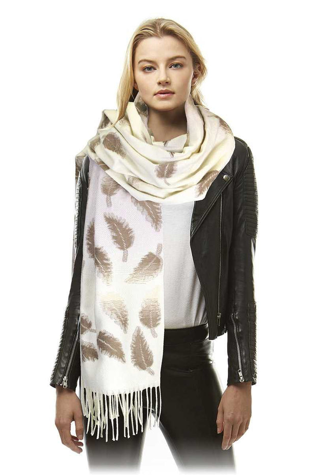 Luxe Leaf Scarf