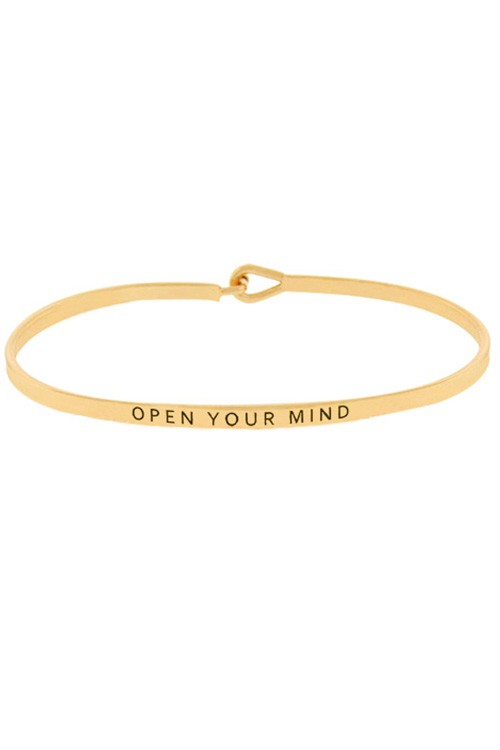 Open Your Mind Inspiration Bangle