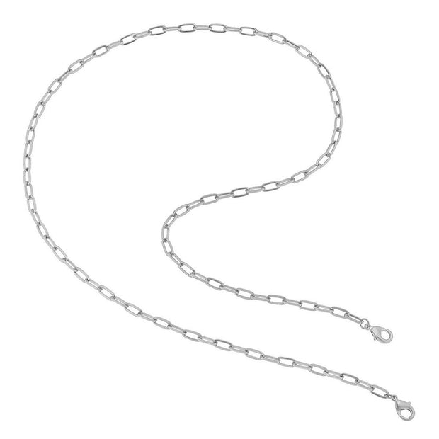 2 in 1 Oval Mask Chain Necklace