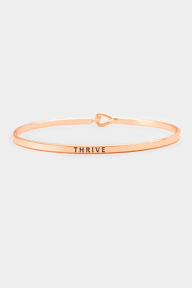 Thrive Bangle Bracelet