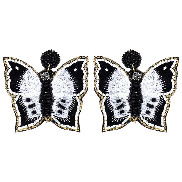 Butterfly Statement Earring