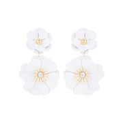 Bloom Flower Statement Earrings