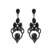 Art Deco Chandelier Statement Earring