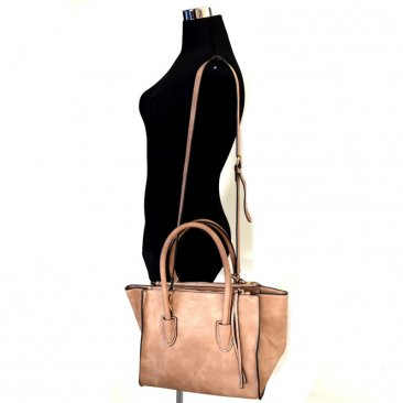 Multi Compartment Wing Satchel