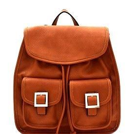 2 Buckle Front Backpack