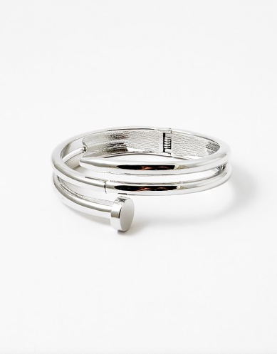 Screw Open Hinge Cuff Bracelet