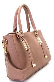 Hardware Accent Structured Satchel