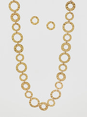 MULTI RING CHAIN NECKLACE