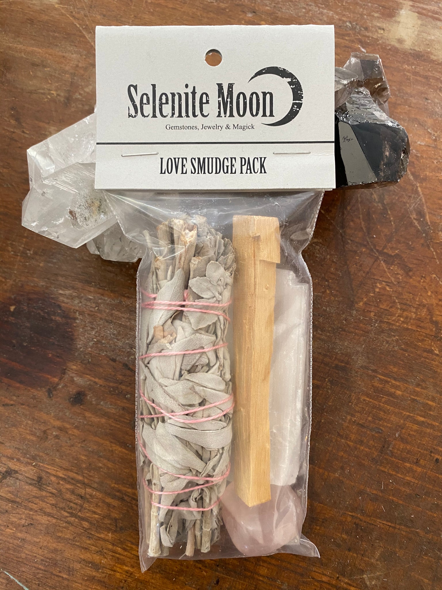 Love Smudge Pack - Rose Quartz