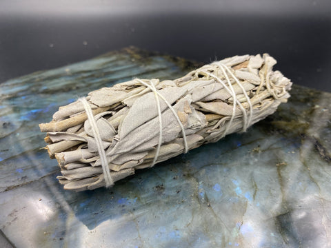 "4"" White Sage for Energy Cleansing"