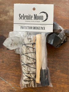 Protection Smudge Pack - Black Tourmaline