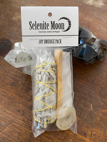 Joy Smudge Pack -Citrine