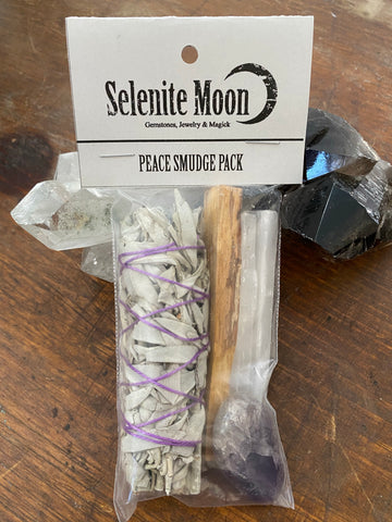 Peace Smudge Pack -Amethyst