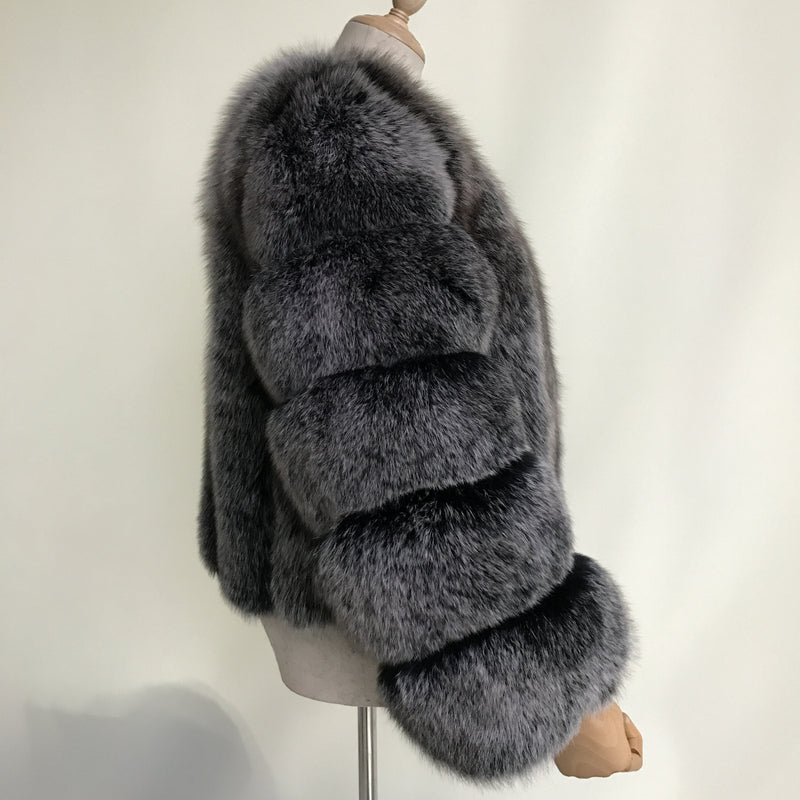 Duchess Short Fox Fur Jacket