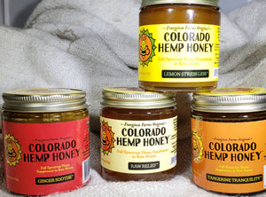 Colorado Hemp Honey Set - LivKind CBD Wellness Gifts
