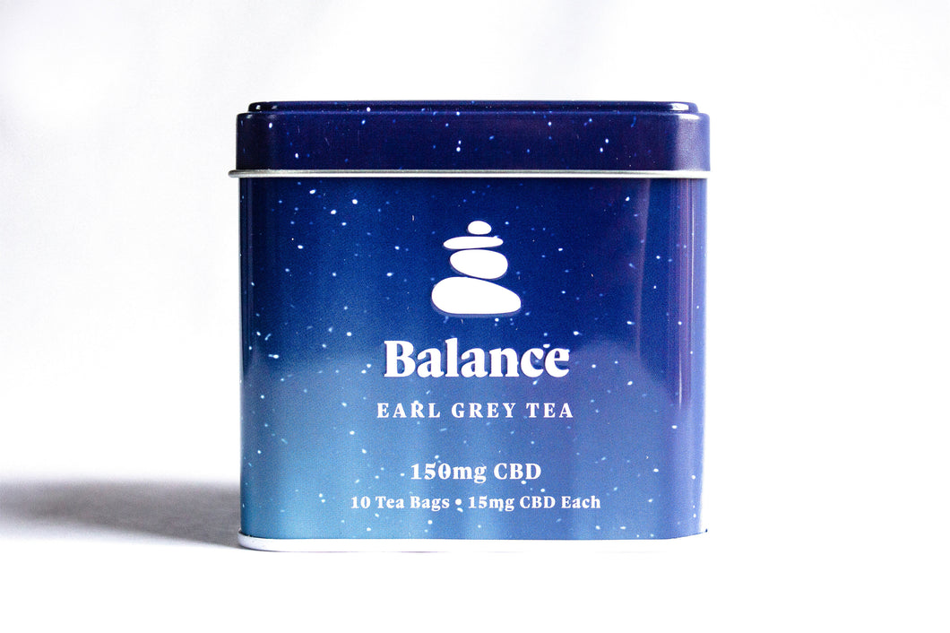 Balance Earl Gray CBD Tea
