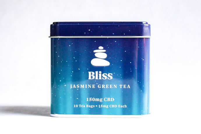 Bliss Jasmine Green CBD Tea